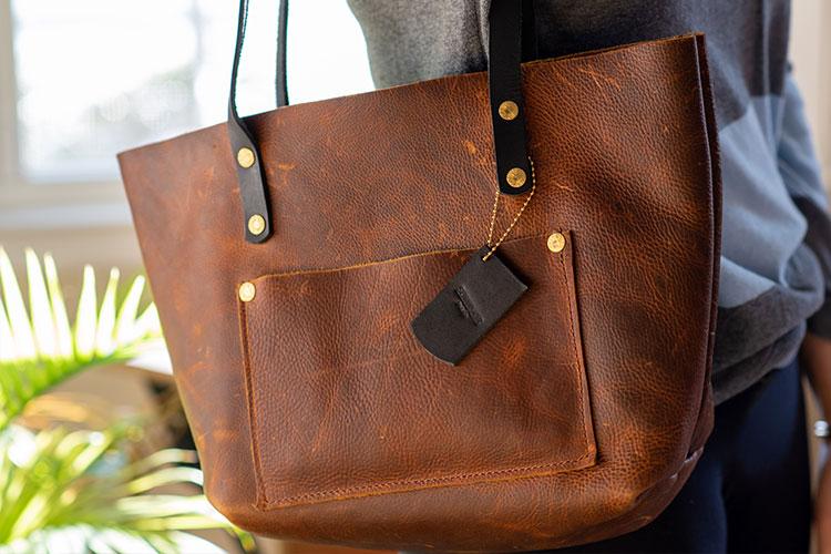 Survivor Made Leather Handbags